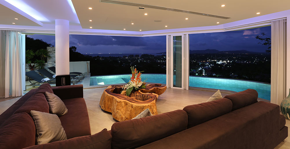 Villa Beyond-1. Featured View from Living Room