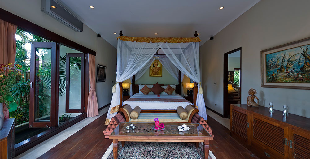 Kalimaya I-Villa Kalimaya I - Ground floor bedroom main house