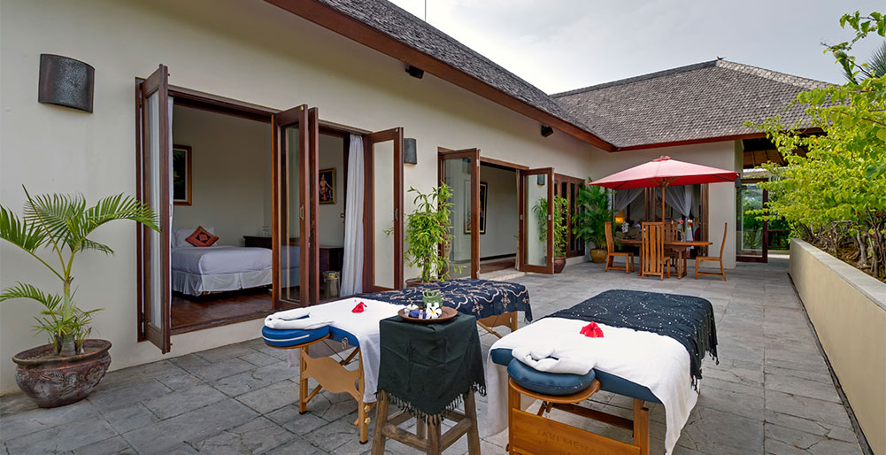 Kalimaya I-Villa Kalimaya I - Massage set up on upstair patio