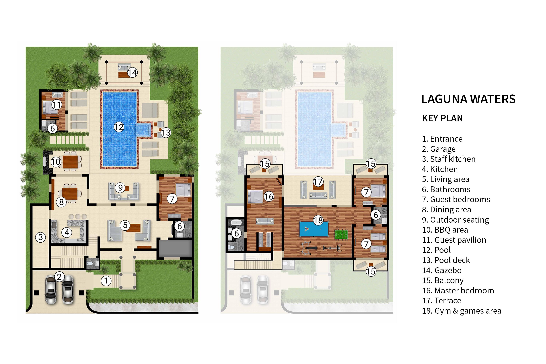 Laguna Waters Floorplan Elite Havens