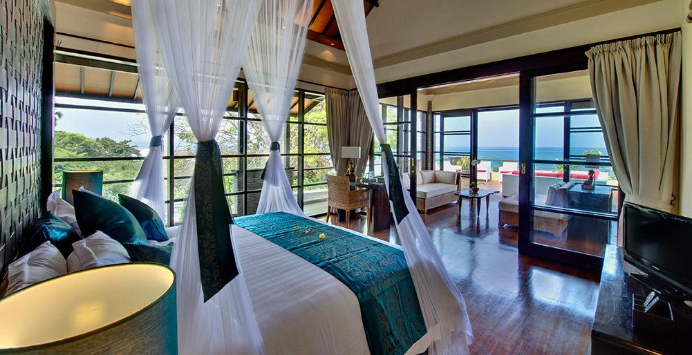 Villa lega 5 bedroom villa seminyak bali - Elegant master bedroom design ideas packing comfort in luxury ...