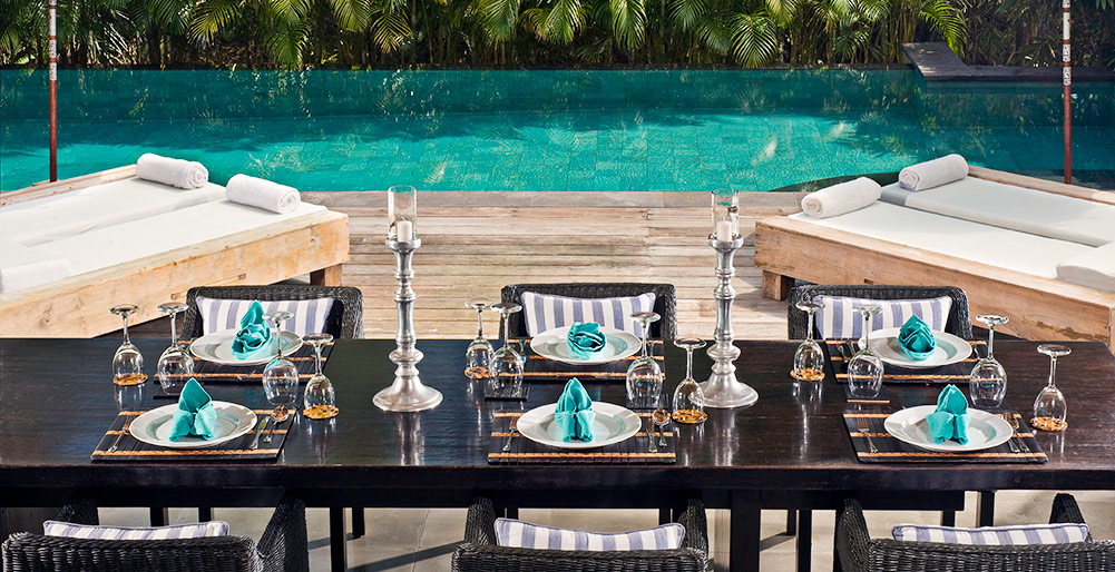 Villa Maya Retreat-Villa Maya Retreat - Dining table ready for lunch