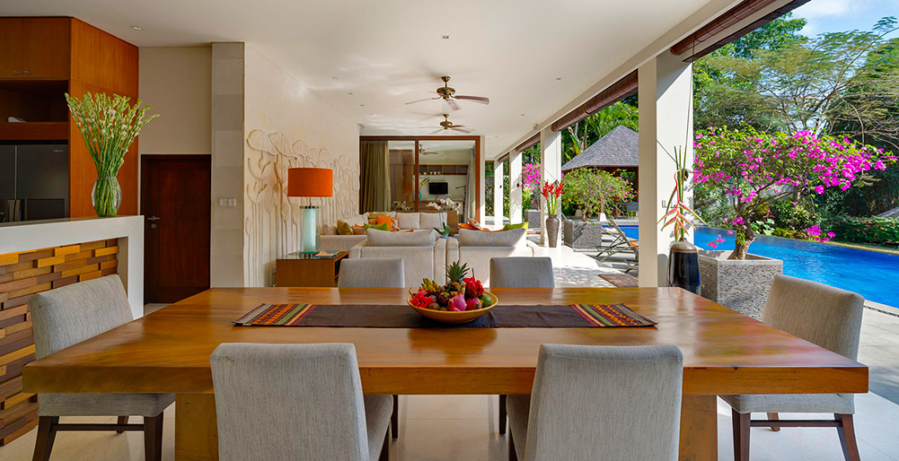 Villa Shinta Dewi Ubud-Villa Shinta Dewi Ubud - Dining and entertaining spaces