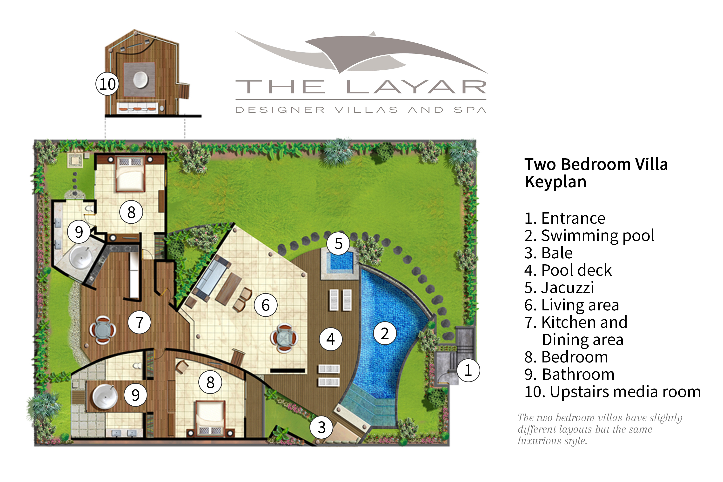 The Layar - two bedroom villa