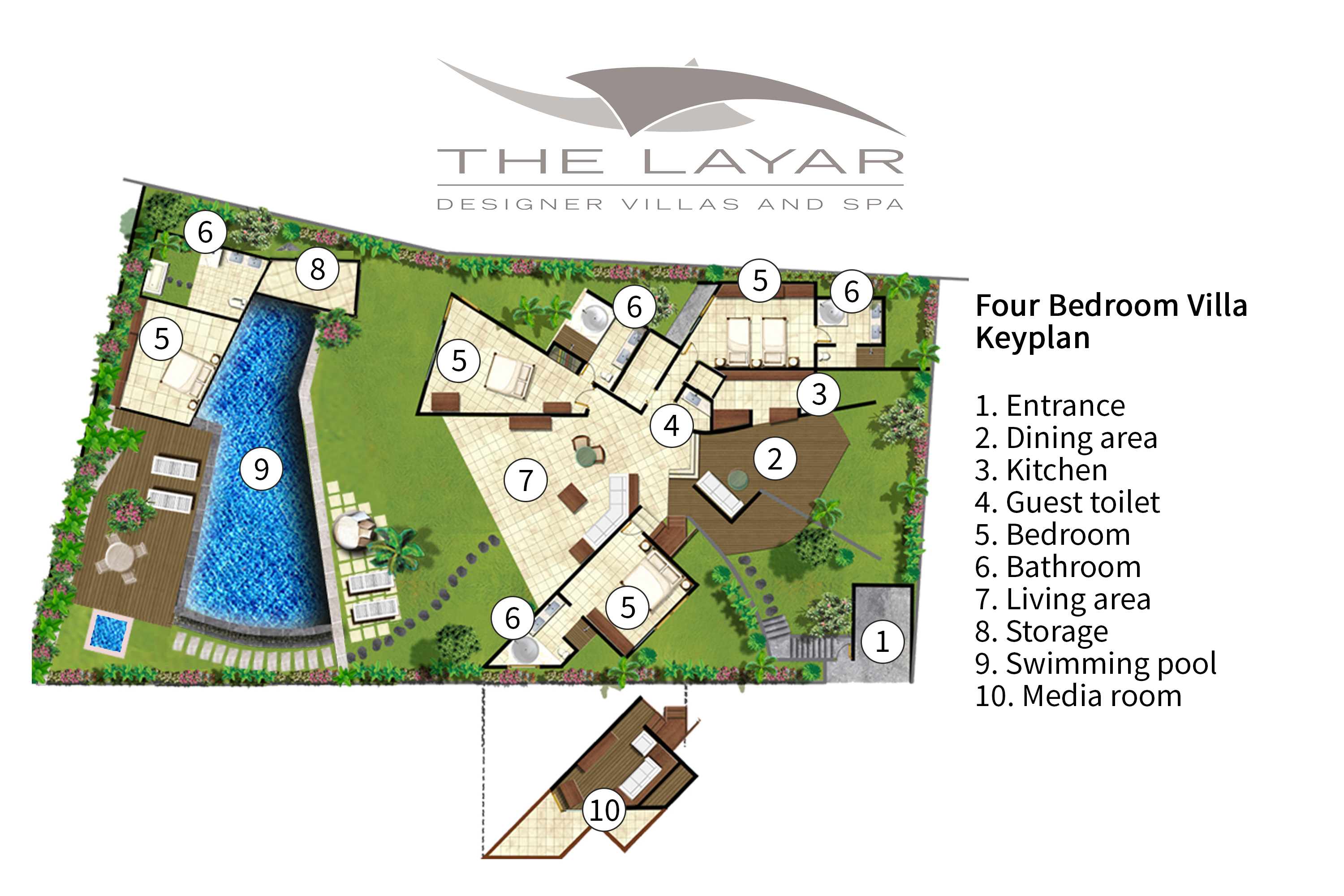 The Layar - four bedroom villa
