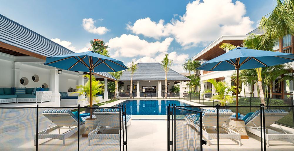 Villa windu asri 6 bedroom villa seminyak bali for 6 bedroom villa seminyak