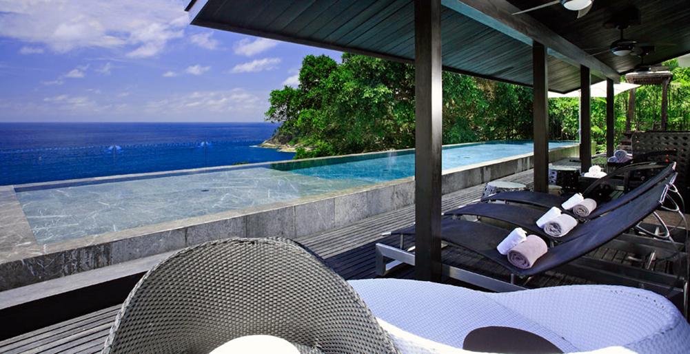 Designer Villa luxuriös Yin Phuket Thailand im Wald