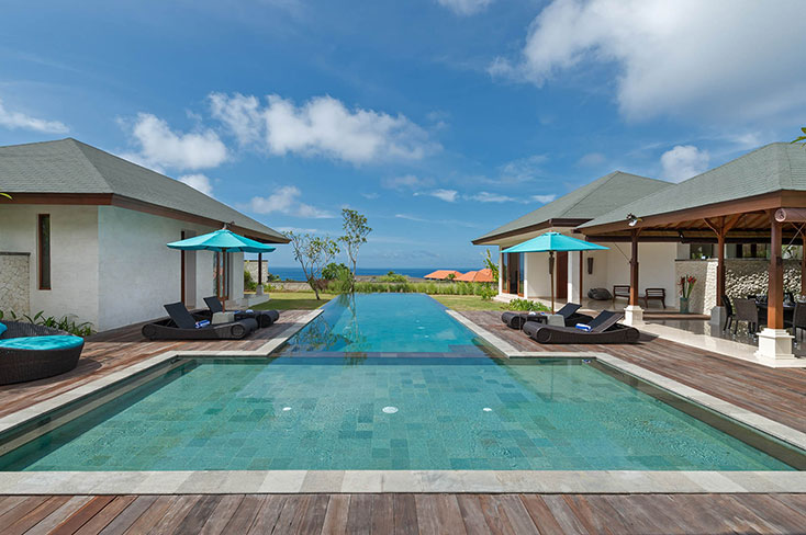 Pandawa Cliff Estate, 15 Bedroom villa, The Bukit, Bali