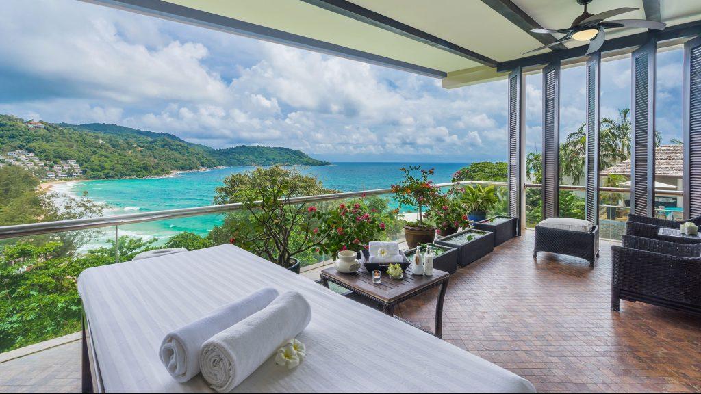 Thai massage at Villa Amanzi in Phuket